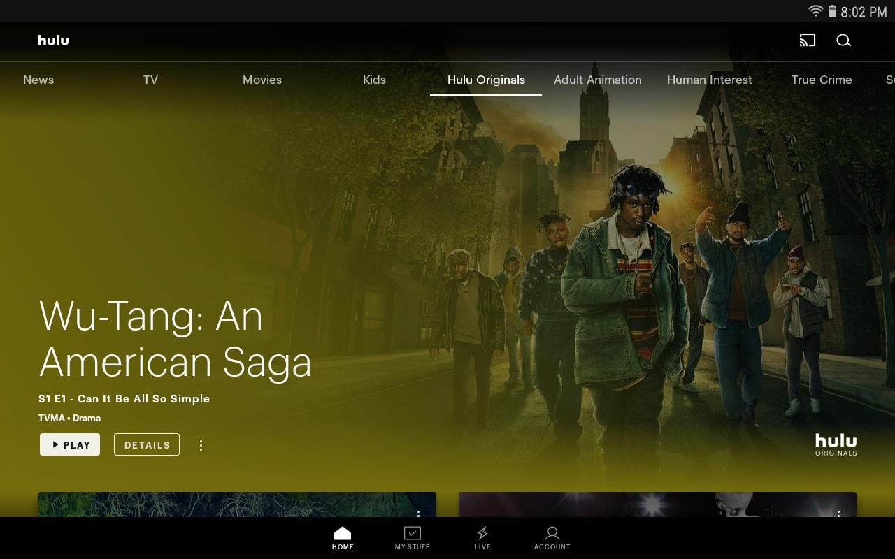 Hulu: Stream TV, Movies & more 3.63.0.307840 Screen 8