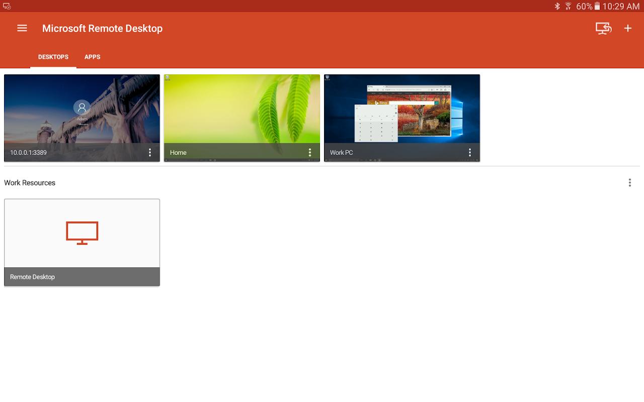 Microsoft Remote Desktop 8.1.56.294 Screen 12
