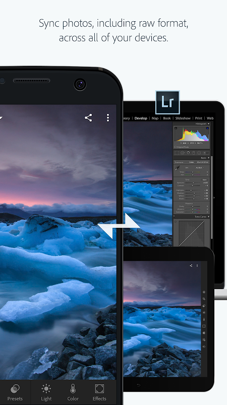 Android Adobe Photoshop Lightroom CC Screen 3