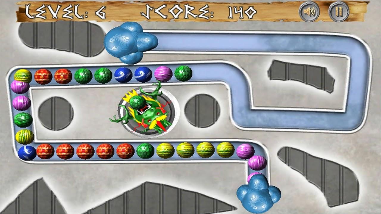 Android Dragon Zuma Ball Blast Screen 2