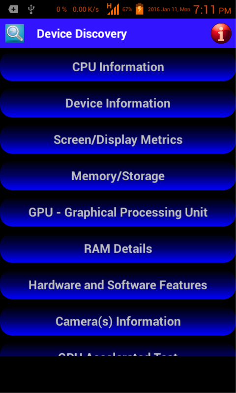 Android Device Discovery Screen 8