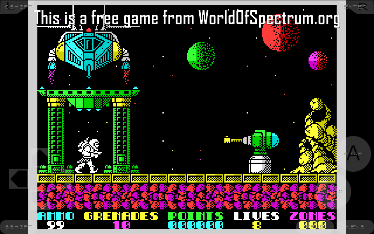 Android Speccy - ZX Spectrum Emulator Screen 23