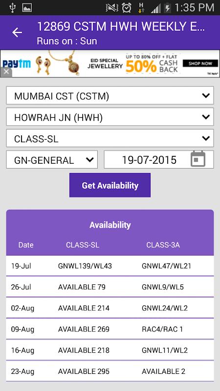 Live Train Status 29.0 Screen 8