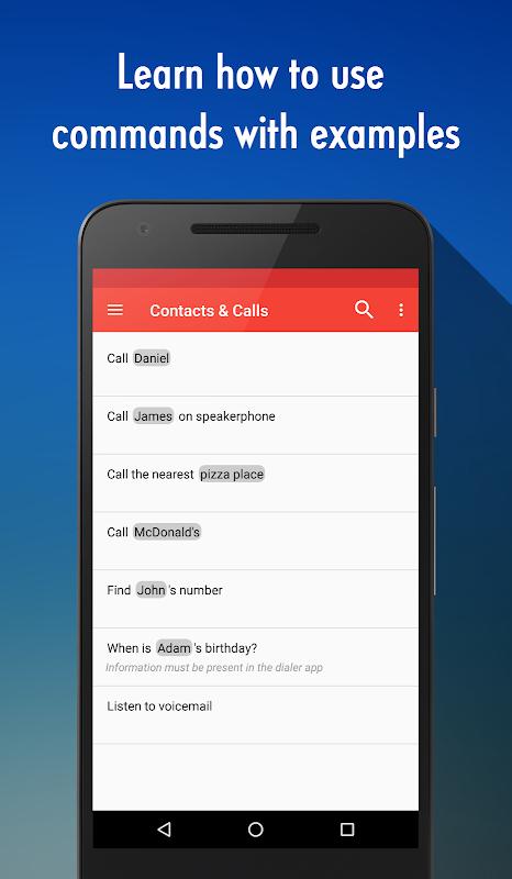 OK Google Voice Commands (Guide) 4.2.000 Screen 3