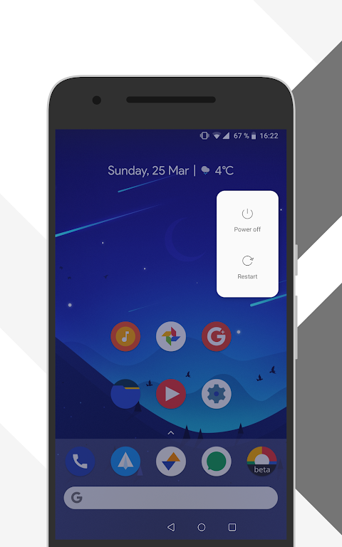 Android [Substratum] Outline Theme (Oreo) Screen 6