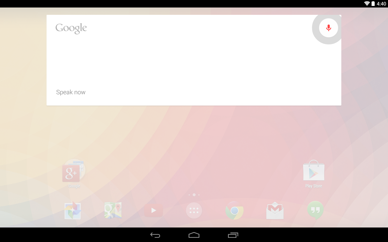 Google Now Launcher 1.4.large Screen 3