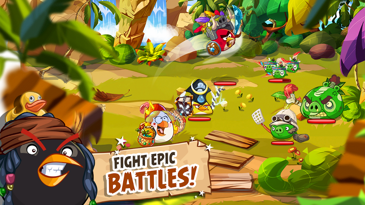 Android Angry Birds Epic RPG Screen 6
