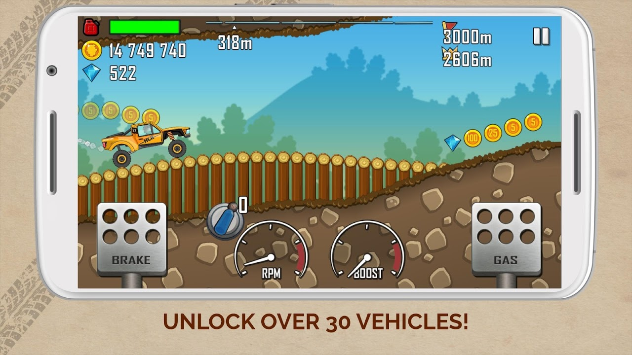 Hill Climb Racing 1.39.3 Screen 1