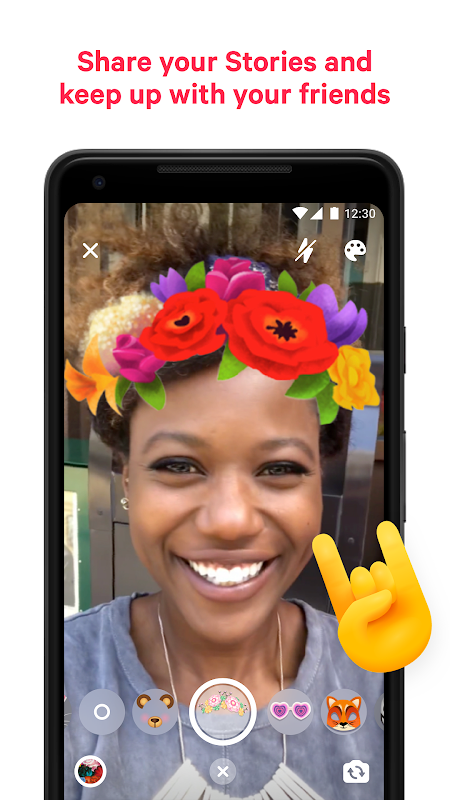 Messenger – Text and Video Chat for Free 203.0.0.0.55 Screen 5