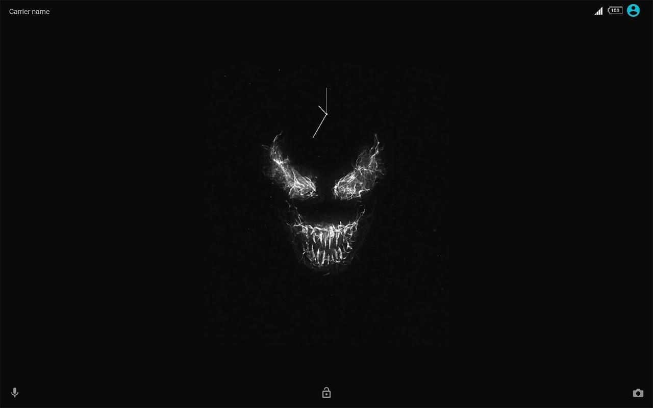 Android Xperia™ Venom Theme Screen 2