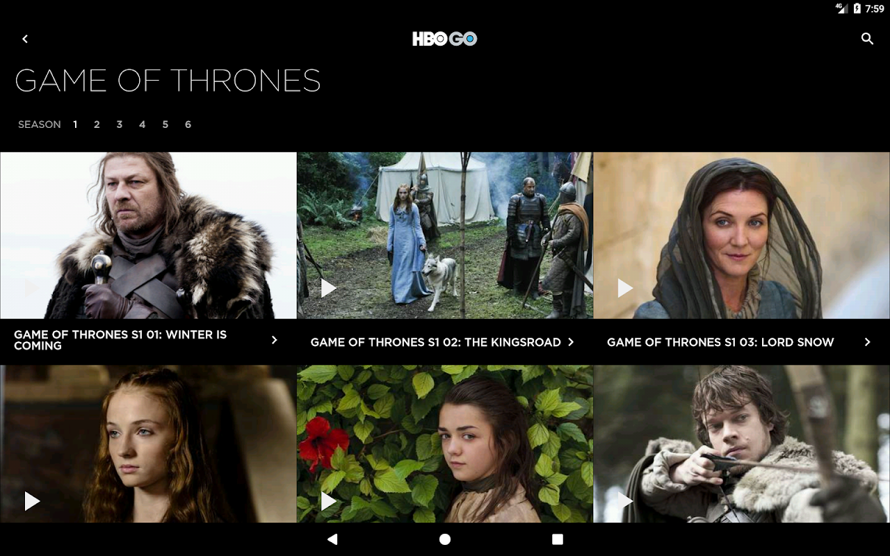 HBO GO Singapore 5.0.9 Screen 6