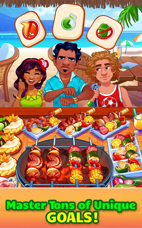 Android Cooking Craze: Crazy, Fast Restaurant Kitchen Game Screen 3