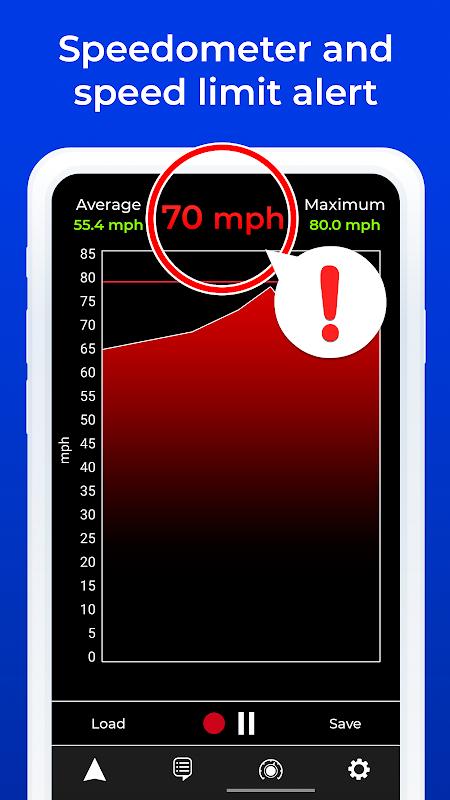 Radarbot Pro: Speed Camera Detector & Speedometer 7.0.3 Screen 3