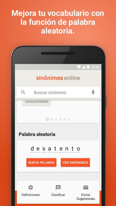 Diccionario Sinónimos Offline 2.7.0 Screen 4
