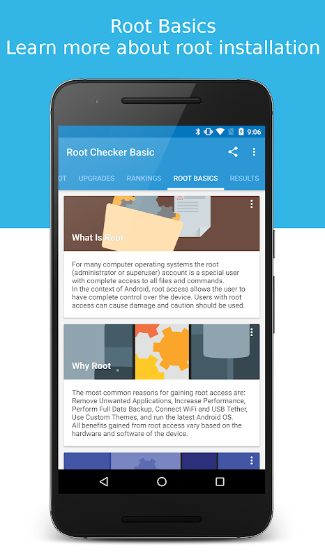 Android Root Checker Screen 2
