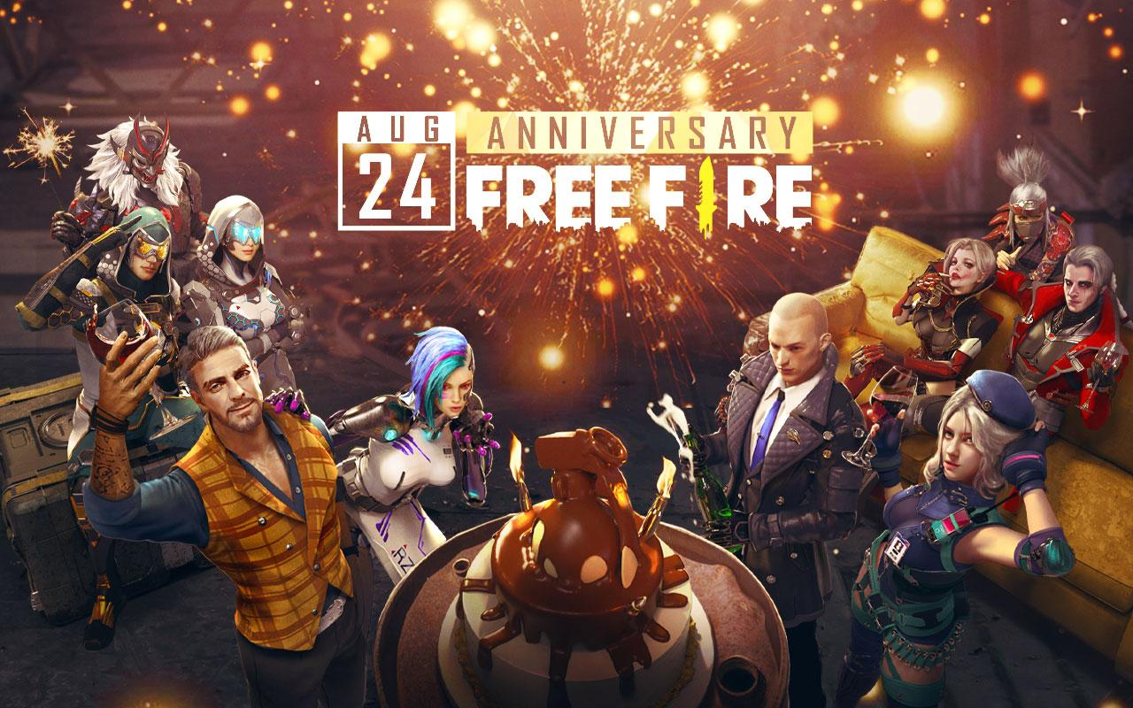 Android Garena Free Fire - Anniversary Screen 3