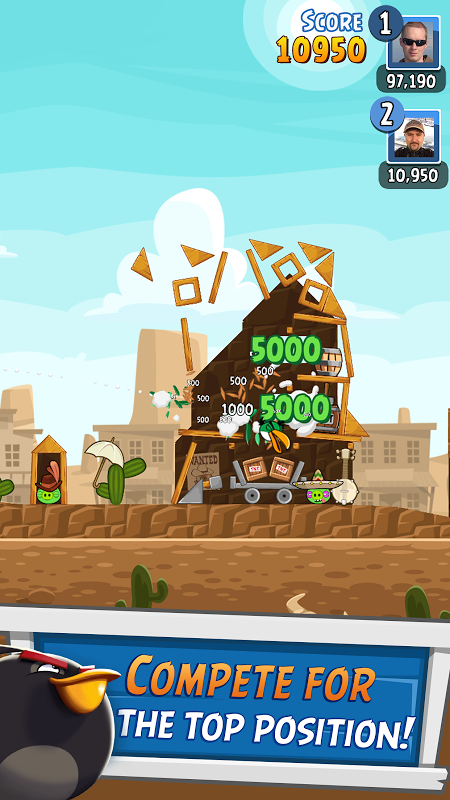 Android Angry Birds Friends Screen 13