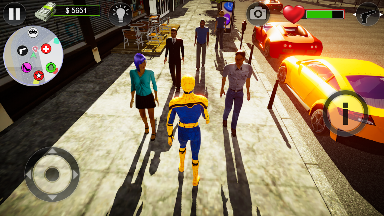 Spidy @ San Andreas 1.0.0.0 Screen 2