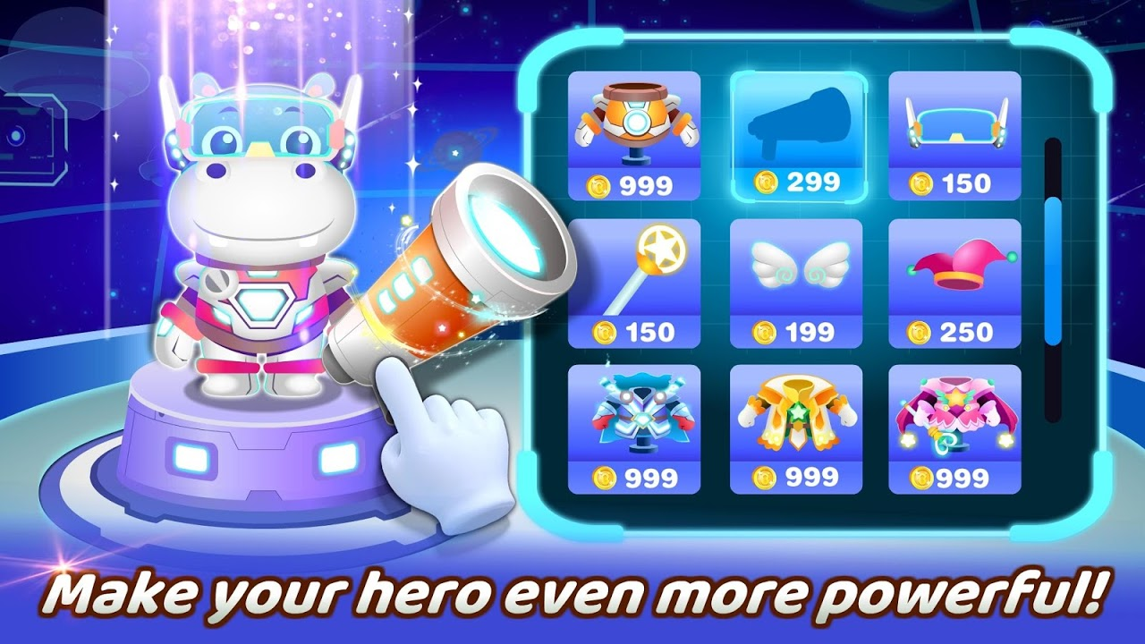 Android Little Panda's Hero Battle Game Screen 4