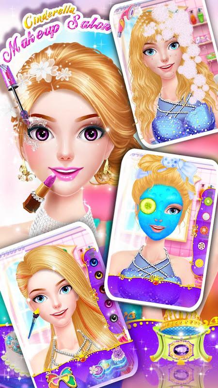 Cinderella Fashion Salon - Makeup & Dress Up 2.2.3967 Screen 6