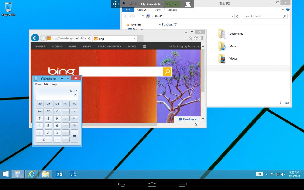 Microsoft Remote Desktop 8.0.5.24406 Screen 3