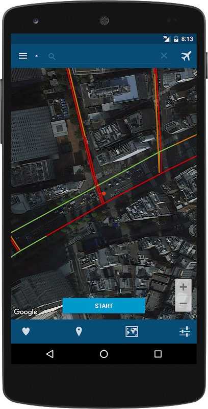 Android Fake Location Screen 3