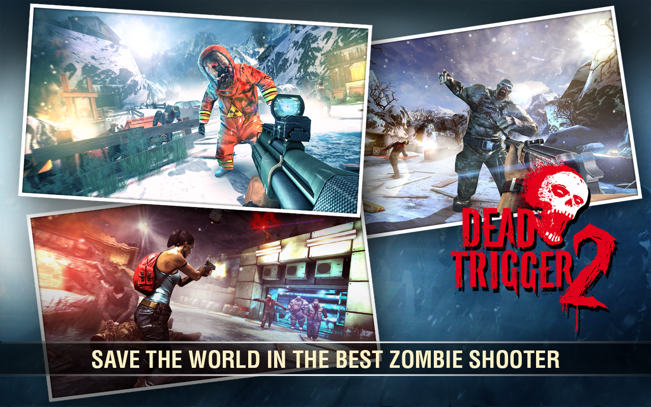 Android Dead Trigger 2: First Person Zombie Shooter Game Screen 2