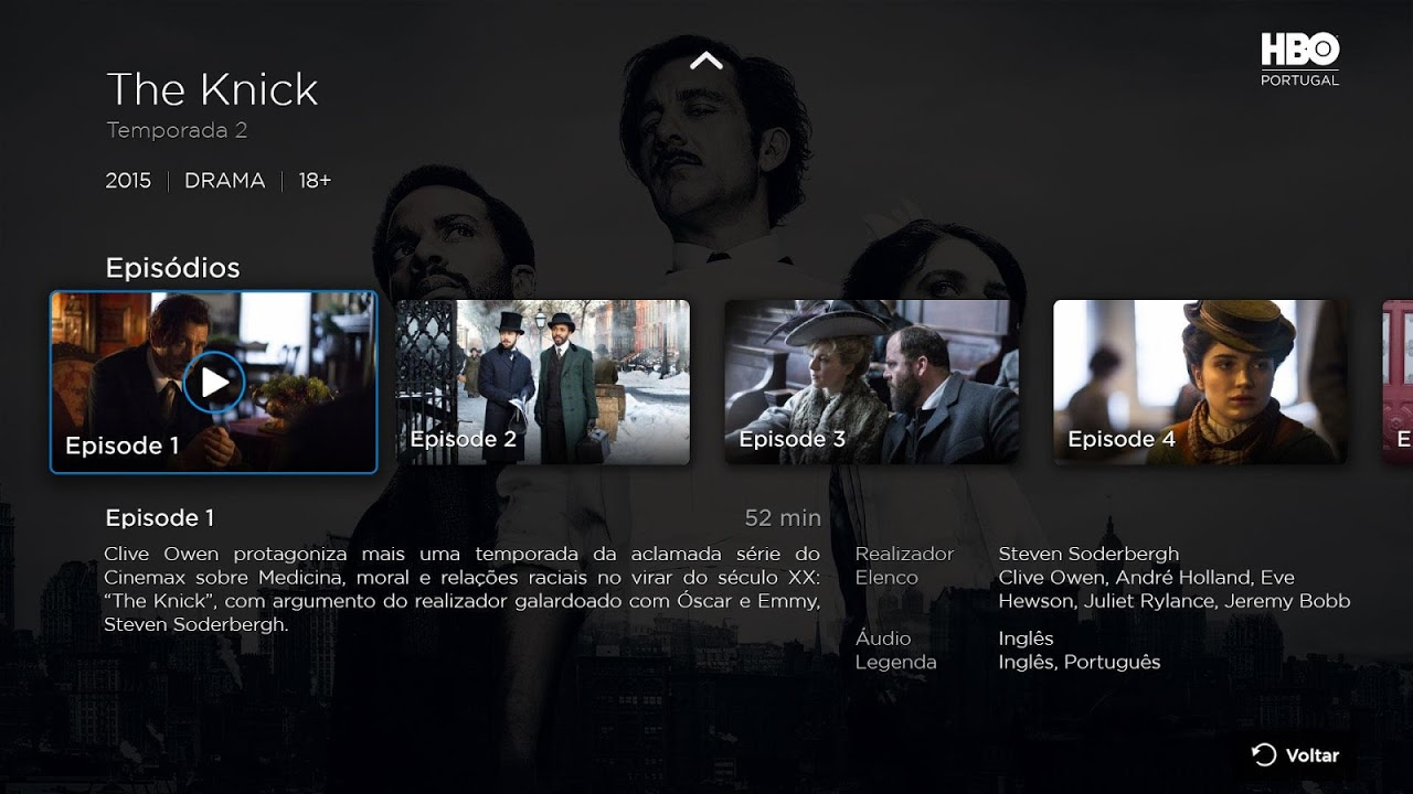 Android HBO Portugal - Android TV Screen 1