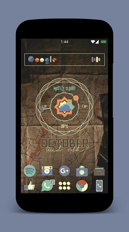 Aura Zooper 1.1 Screen 2