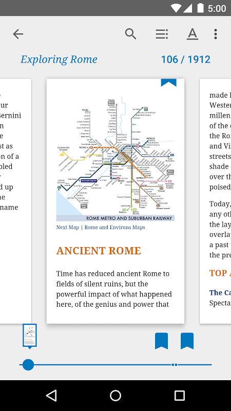 Android Google Play Books Screen 1
