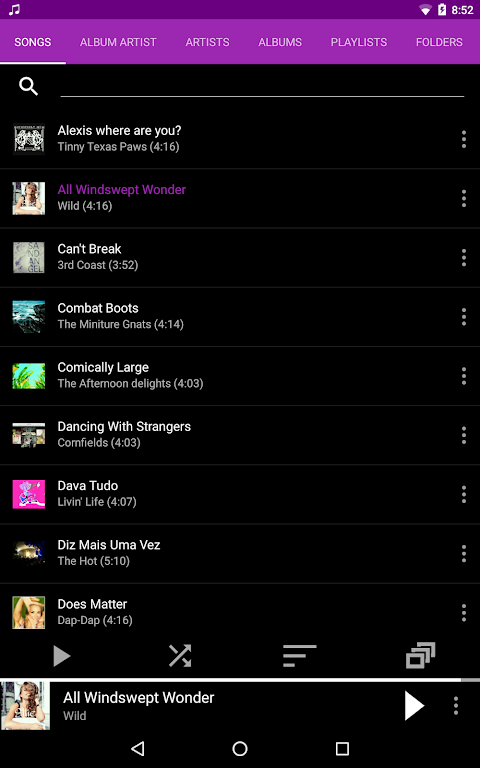 Rocket Player : Music Player 5.6.38 Screen 22