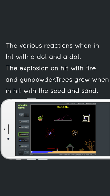 Powder Game 3.6.0 Screen 2