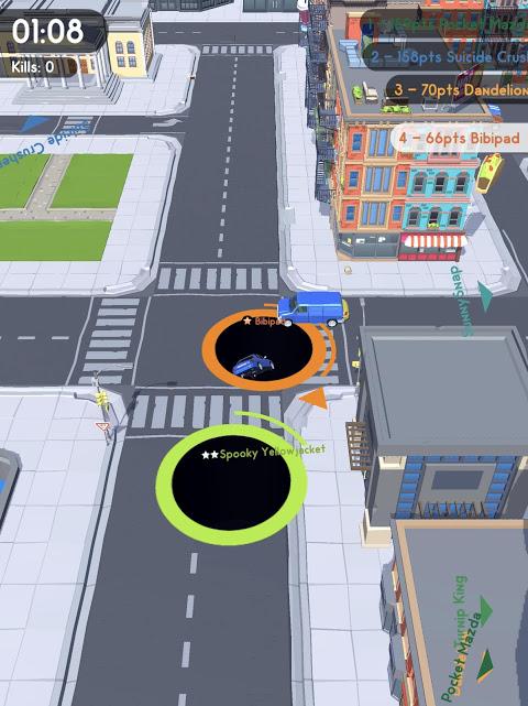Android Hole.io Screen 6