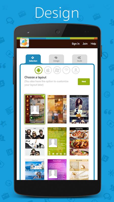 App Builder - Create own app ( FREE App maker ) 1.67 Screen 2