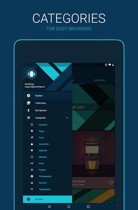 Backdrops - Wallpapers 4.0.8 Screen 3