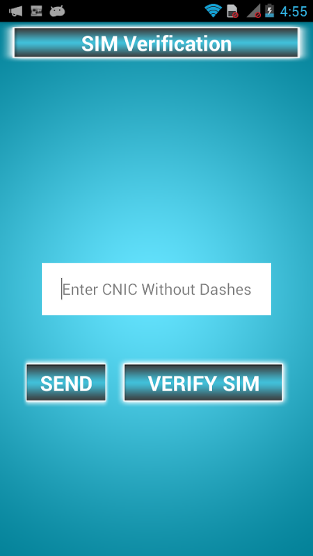 Android SIMs Verification Checker Screen 2