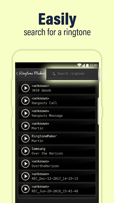 Android Call Ringtone Maker – MP3 & Music Cutter Screen 4