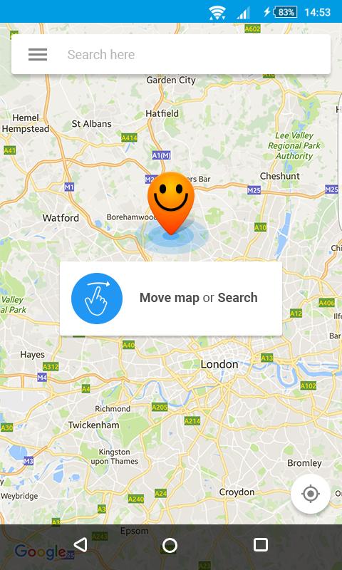 Fake GPS location - Hola 1.122.880 Screen 2