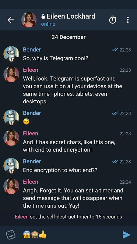 Telegram X 0.22.0.1205-x86 Screen 2