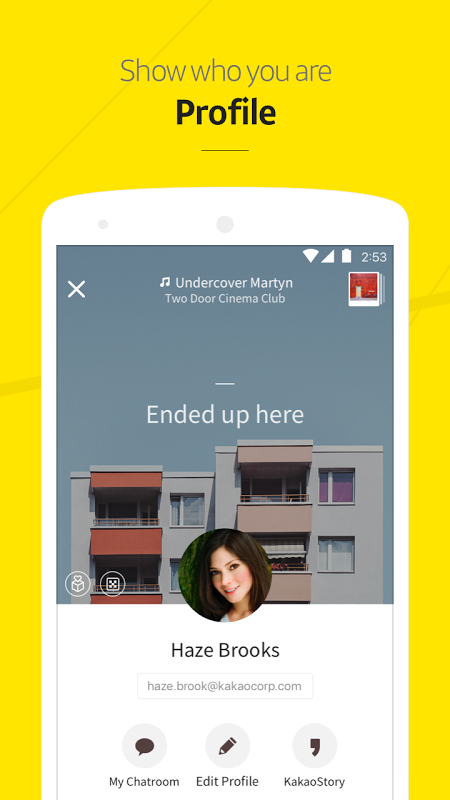 Android KakaoTalk: Free Calls & Text Screen 4