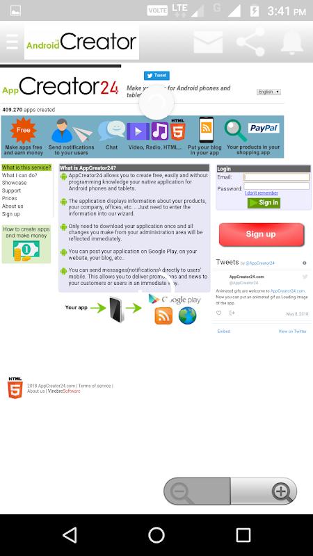 Android app Creator APKs | Android APK