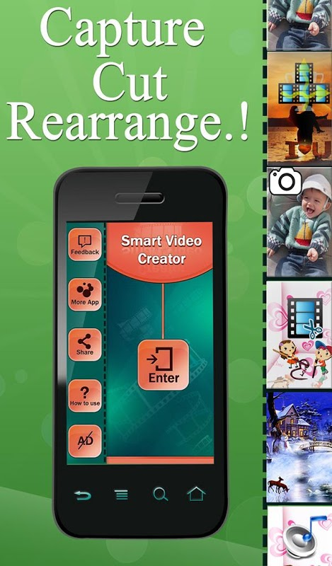 Android Smart Video Creator Screen 2