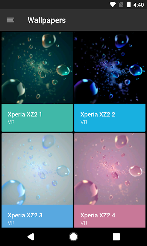 Android Theme - Xperia Screen 7