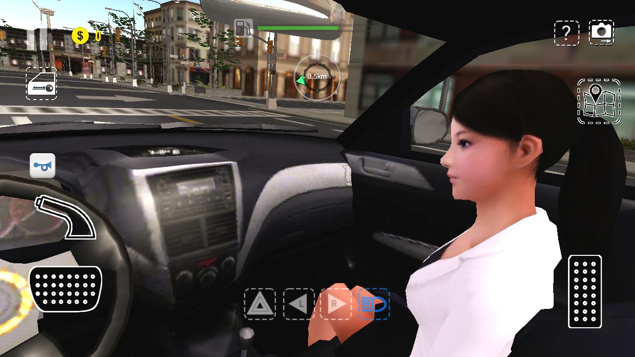 Android Urban Car Simulator Screen 4