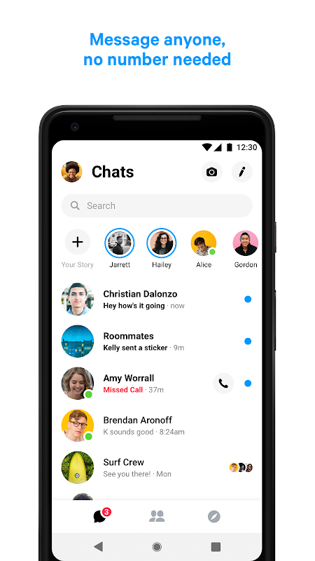 Messenger – Text and Video Chat for Free 233.0.0.3.158 Screen 6