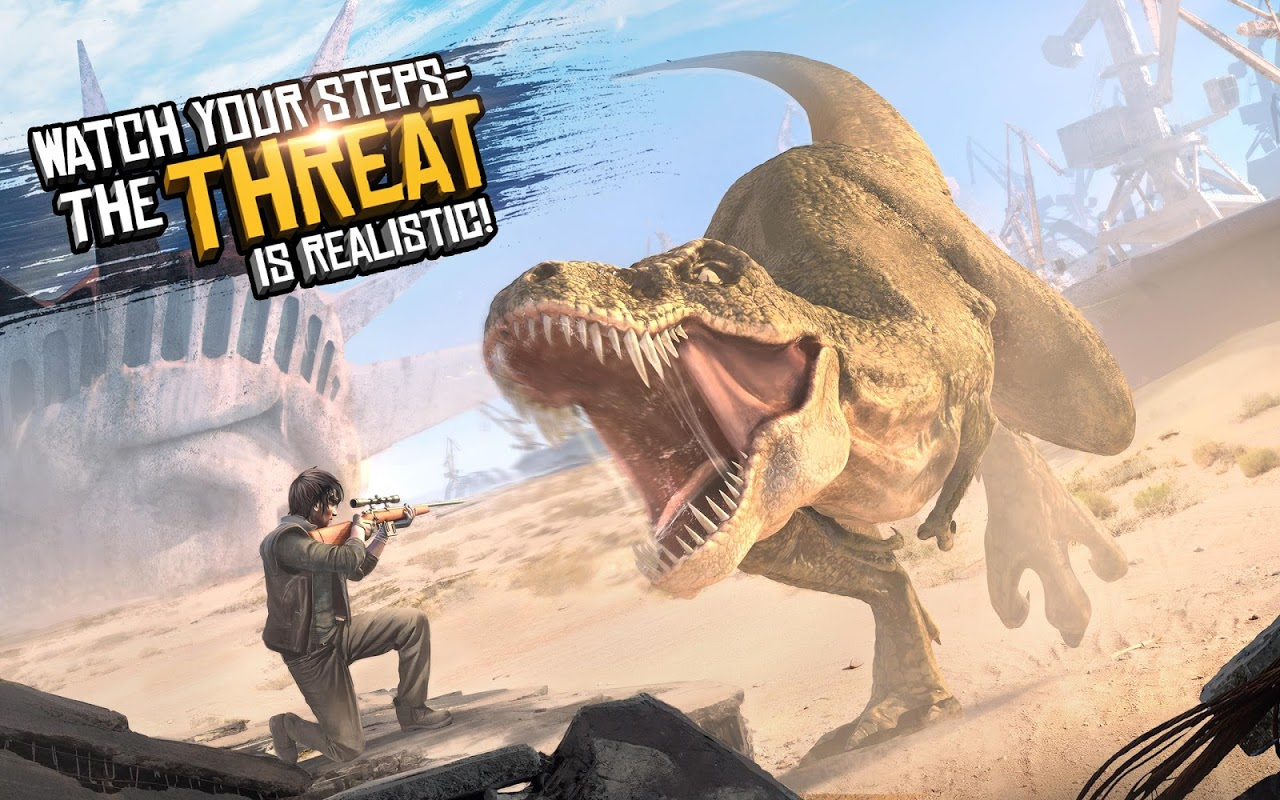 Android Best Sniper Legacy: Dino Hunt & Shooter 3D Screen 7
