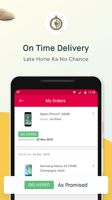 Android Online Shopping App – Snapdeal.com Screen 3