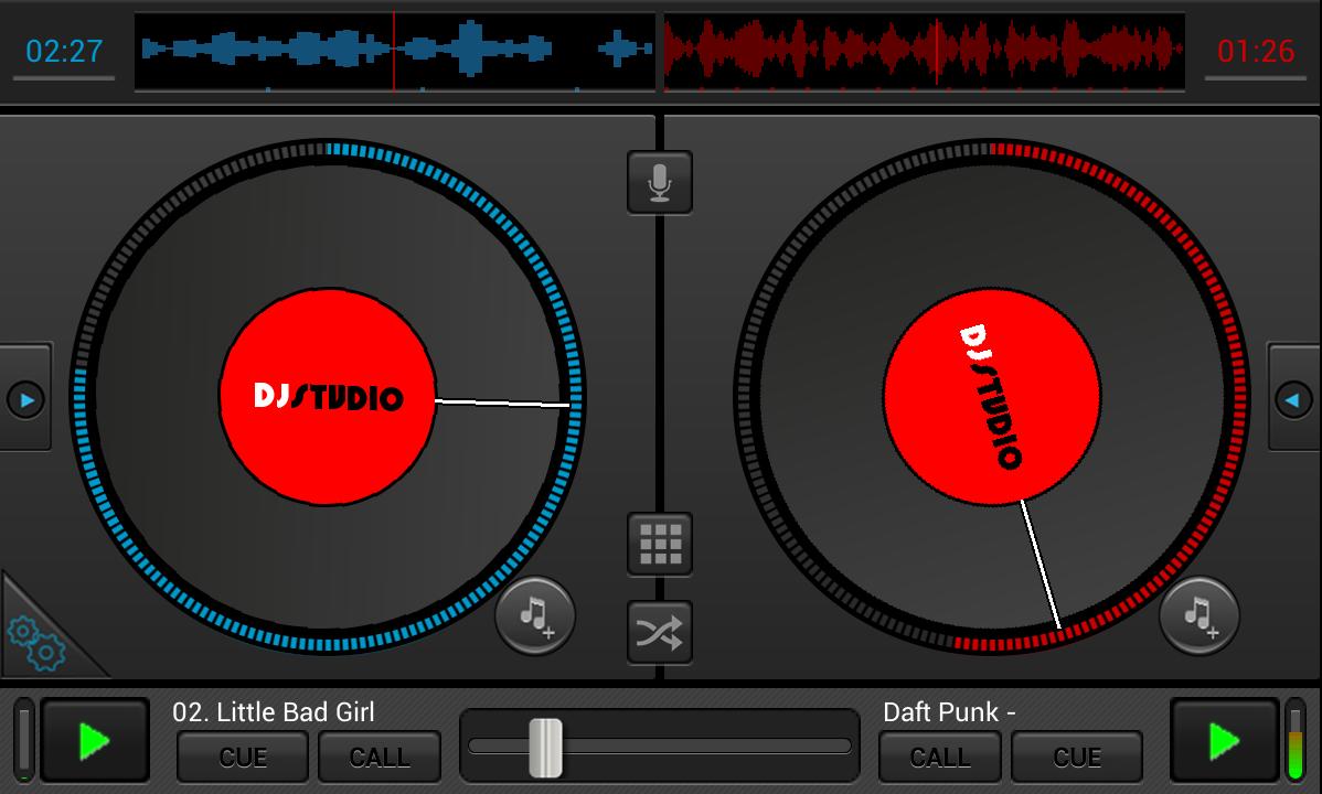 Android DJStudio Screen 4