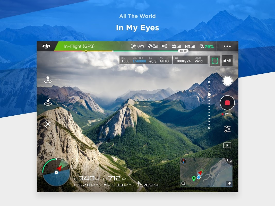 DJI GO 4--For drones since P4 4.3.16 Screen 8