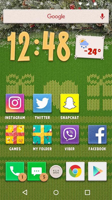 New Year Theme 1.0.3 Screen 2